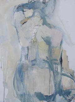 Nothing More by Kelley Ogburn, Vertical Nude Mixed Media on Canvas Painting