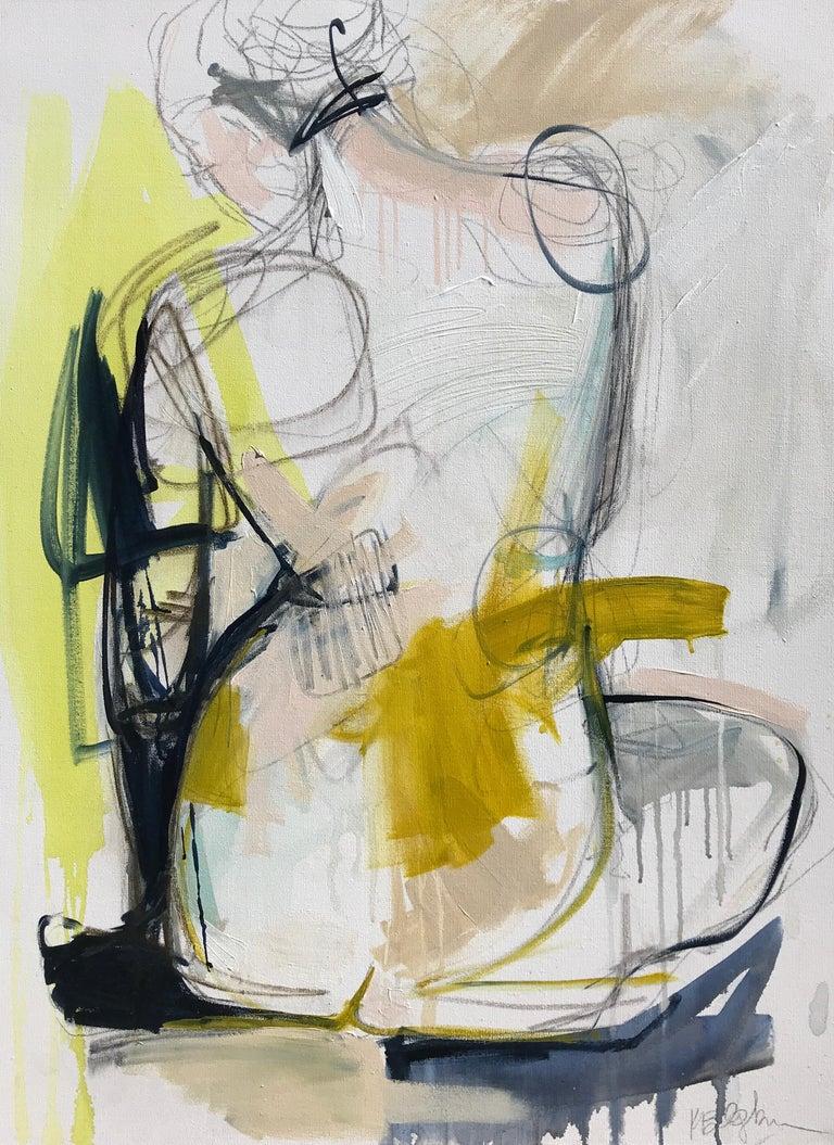 <i>Tuck</i>, 2019, by Kelley Ogburn, offered by Huff Harrington Fine Art
