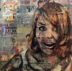 Natalie, Painting, Acrylic on Wood Panel