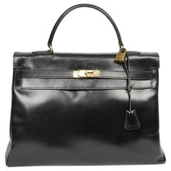 Kelly 35 HERMES Leather Handbag