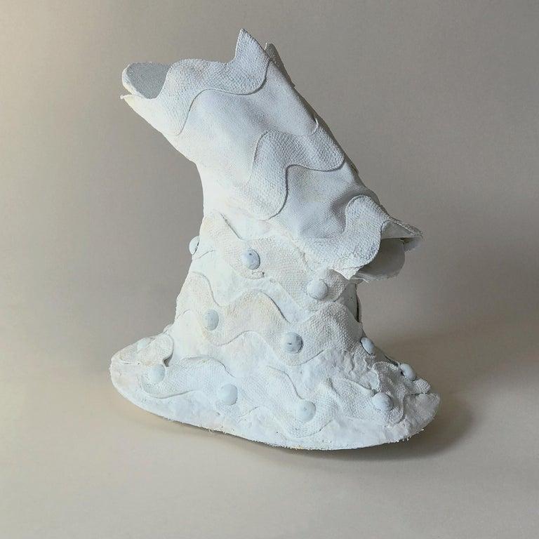 Sculpture Victorian Shoe: 'Chopine III' - Gray Figurative Sculpture by Kelly Bugden + Van Wifvat