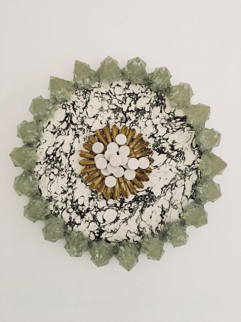 Kelly Bugden + Van Wifvat Abstract Sculpture - Resin Abstract Circle Sculpture: 'Circle'