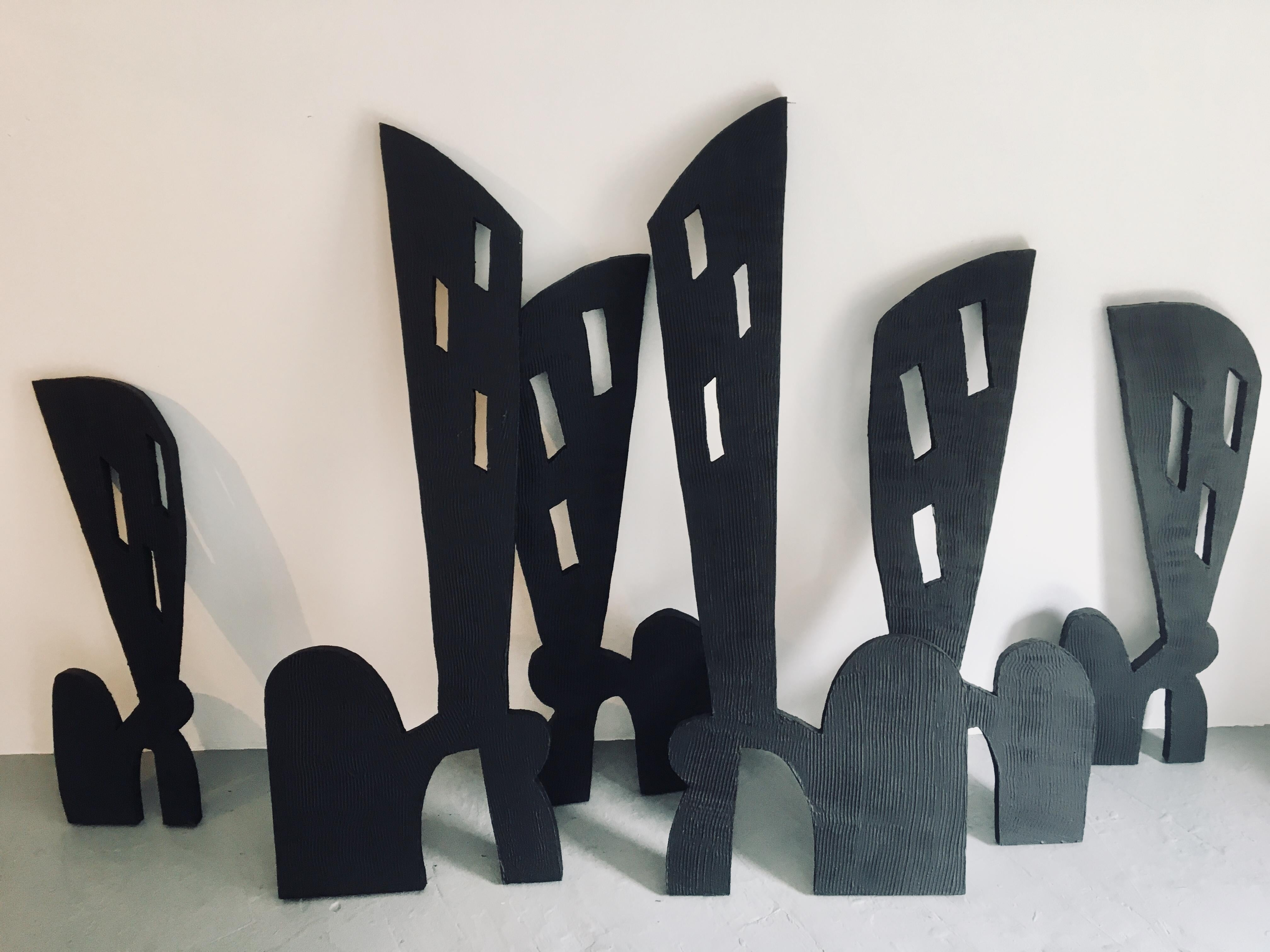 Abstract City Sculpture: 'Cityscape' (sold separately)