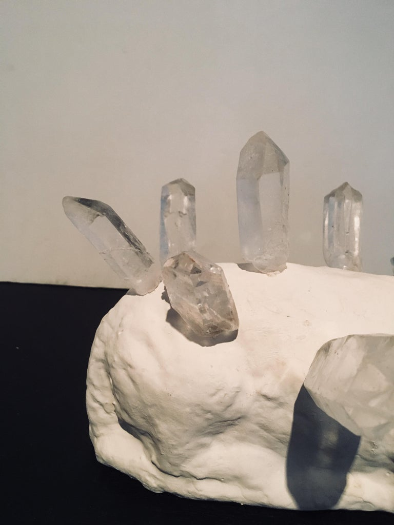 Abstract Lamb & Crystal Sculpture: 'Lamb Crystal' For Sale 7