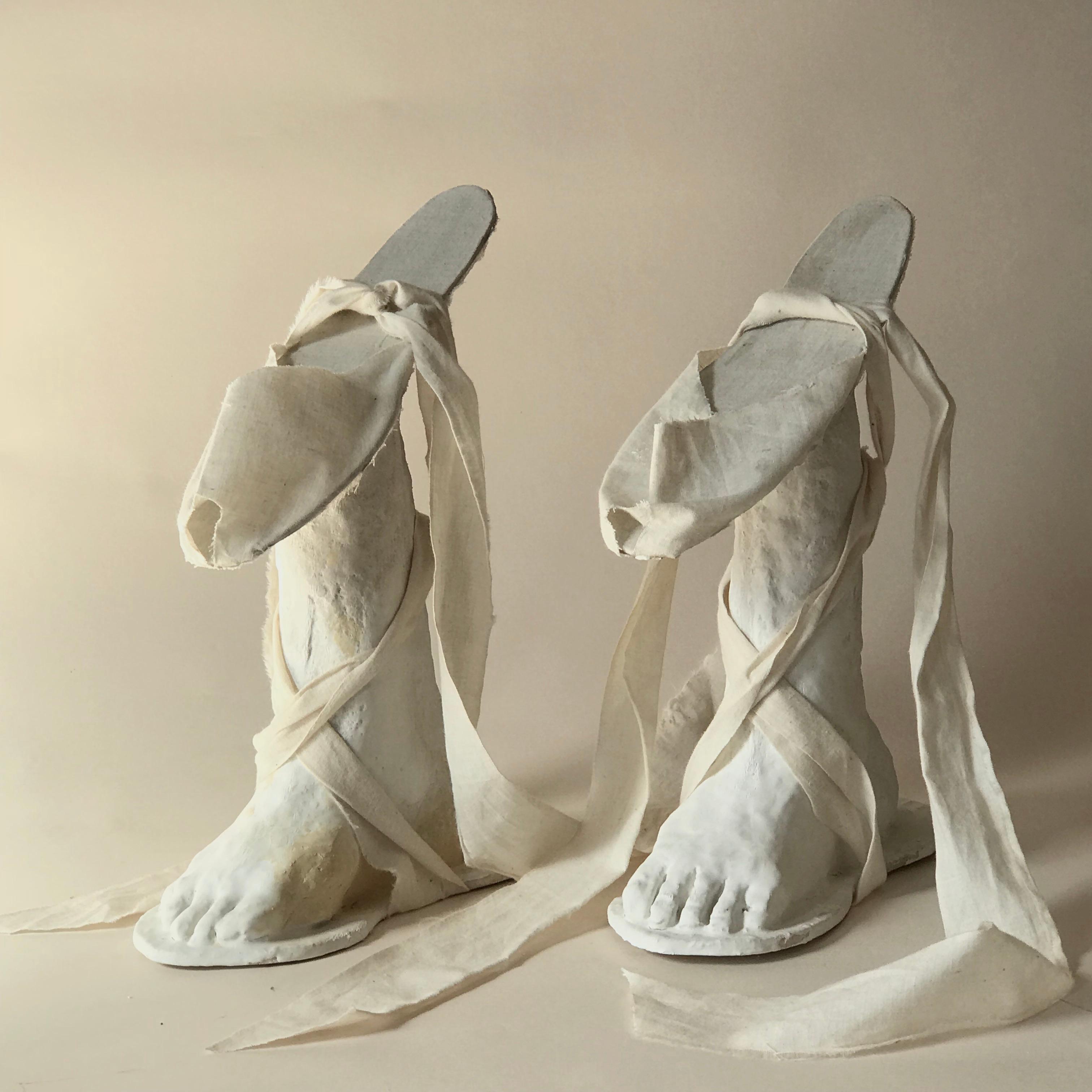 Sculpture: 'Pair of Chopines'