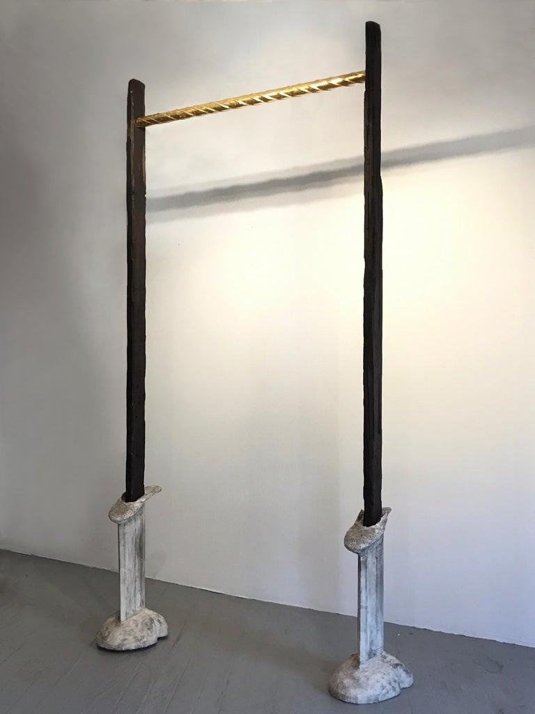 Sculpture; 'Portal' - Conceptual Mixed Media Art by Kelly Bugden + Van Wifvat