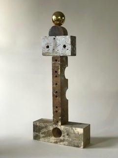 Abstract wood Sculpture: 'Rig I'