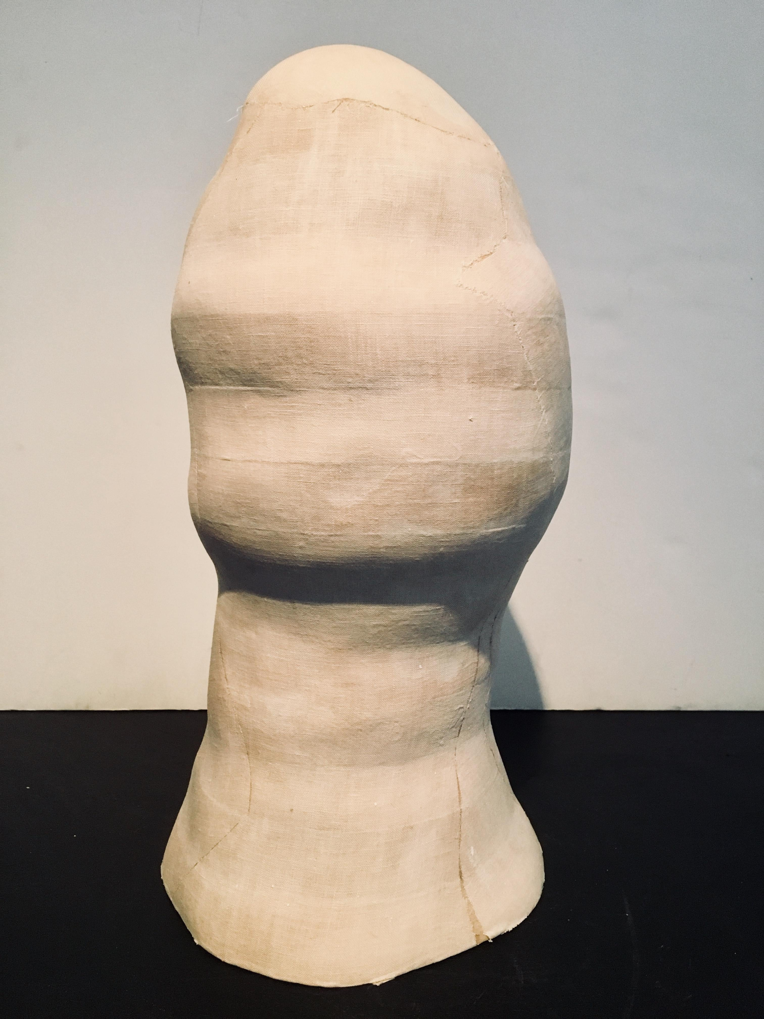 Abstract Head Sculpture: 'Untitled'