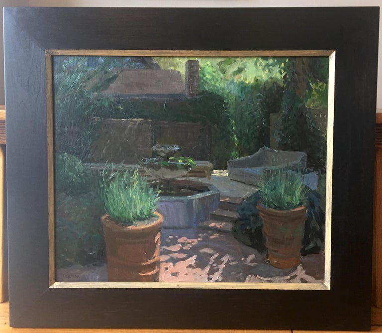 Blooms Garden - Painting by Kelly Carmody