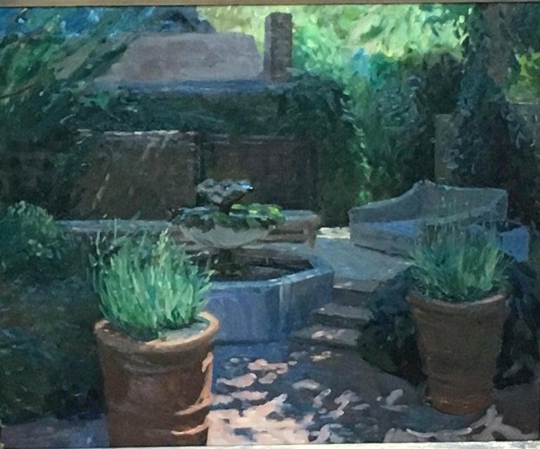 Kelly Carmody Landscape Painting - Blooms Garden