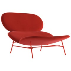 Kelly Red Accent Chair by Claesson Koivisto Rune