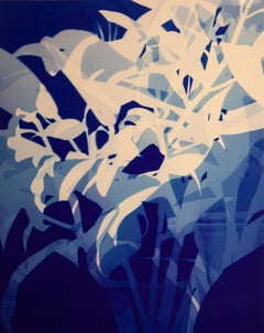 Untitled (Lillies in Blue)