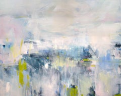 """""""Blush Hour,"""" Abstract Painting"""