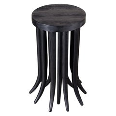 Kelly Wearstler Drexel Side Table in Ebonized Douglas Fir