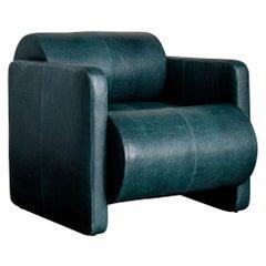 Kelly Wearstler Esfera Club Chair in Bubbly Leather