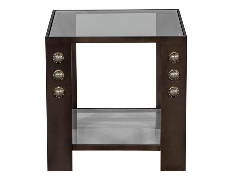 Modern Kelly Wearstler Griffith Side Table For Sale