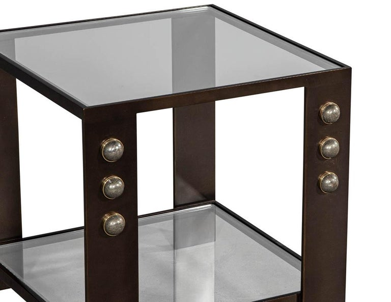 American Kelly Wearstler Griffith Side Table For Sale
