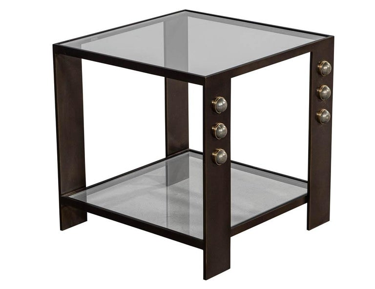 Kelly Wearstler Griffith Side Table In Good Condition For Sale In North York, ON