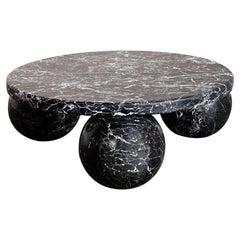 Kelly Wearstler Morro Coffee Table in Nero Marquina Black Marble