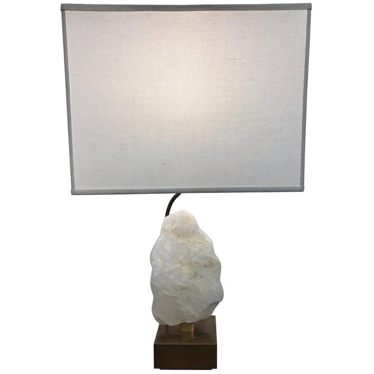 Kelly Wearstler White Quartz Table Lamp For Sale At 1stdibs