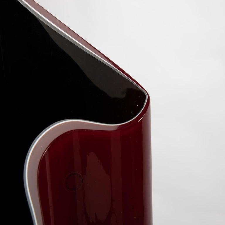 Mid-Century Modern Kelo Vase, Timo Sarpaneva, Venini Murano 'Italy' For Sale