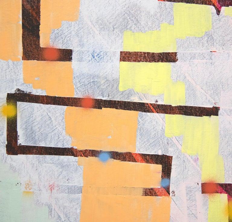A painting by Keltie Ferris.
