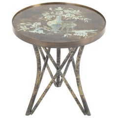 Kelvin and Phillip Laverne Chan Signed Side Table