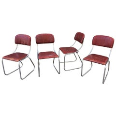 Kem Weber for Lloyd  Set of 4 dining chairs