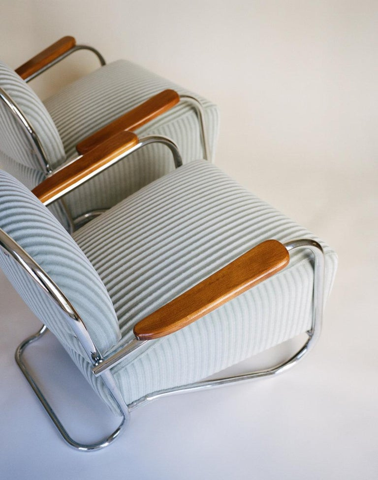 American K.E.M. Weber, Pair of Lounge Chairs, 1934