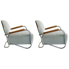 K.E.M. Weber, Pair of Lounge Chairs, 1934