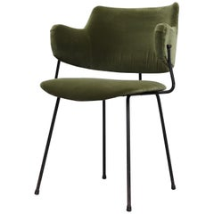 Kembo Wire Framed Armchair by W.H. Gispen