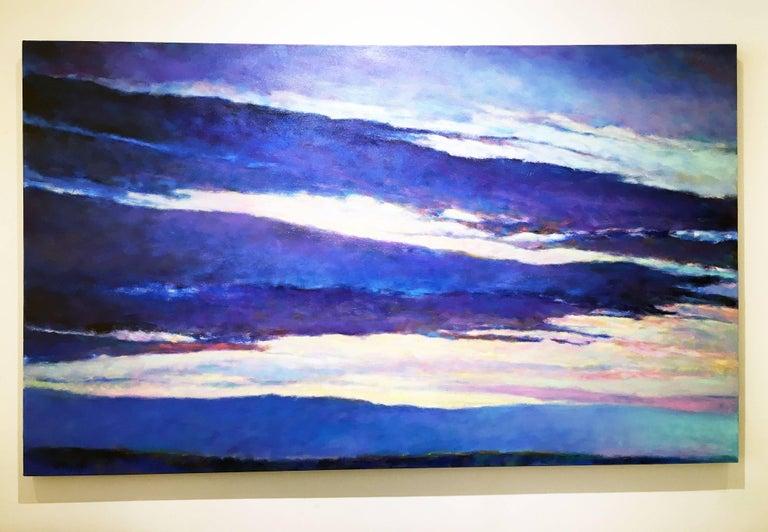 Blue Skyscape - Painting by Ken Elliott