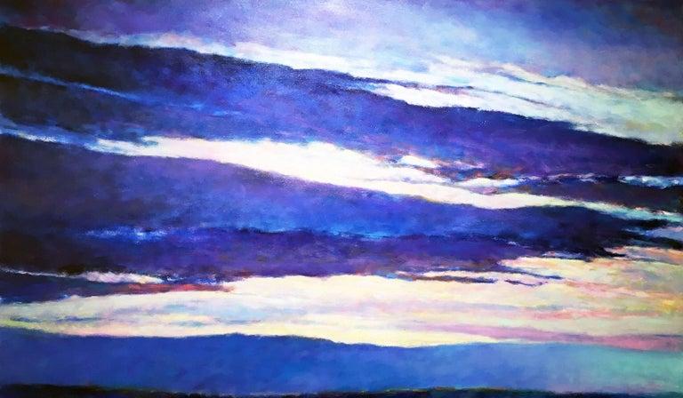 Ken Elliott Landscape Painting - Blue Skyscape
