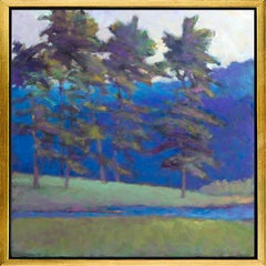 """""""At the Creek's Edge,"""" Limited Edition Giclee Print, 36"""" x 36"""""""
