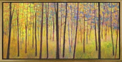 """""""In the Colorful Forest,"""" Limited Edition Giclee Print, 36 x 72"""