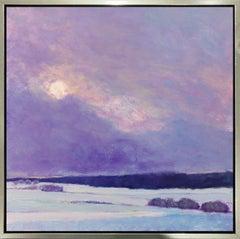 """Sun on Snow II,"" Limited Edition Giclee Print, 48"" x 48"""