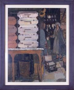 Modern British 20th Century figurative painting by Ken Howard