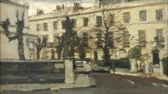 Pelham Crescent - 1968 - Ken Howard (British 1932-) Signed Ken Howard lower righ
