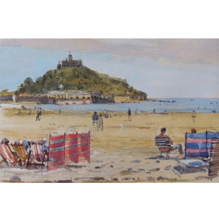 Ken Howard Watercolor Windbreakers St Michael S Mount