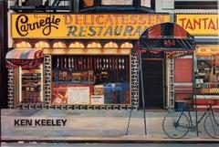 1989 After Ken Keeley 'Carnegie Delicatessen Restaurant' Realism