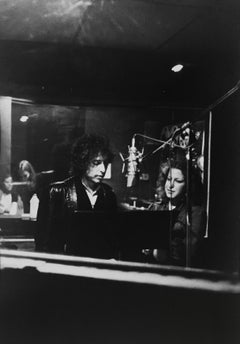 Bob Dylan and Bette Midler in Studio - Rolling Thunder Tour
