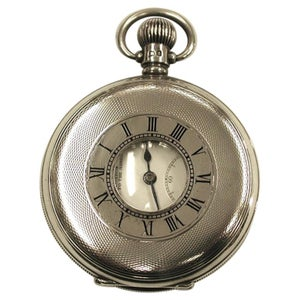 Kendal and Dent Silver Demi-Hunter Pocket Watch, Dated 1924