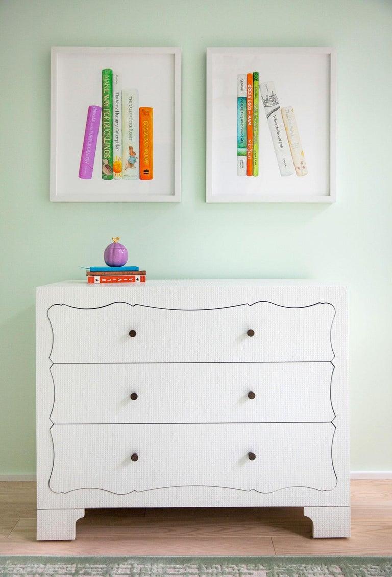A Child's Bookshelf - Print by Kendyll Hillegas