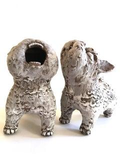 Ceramic Dogs: 'Guardian Dogs #2'