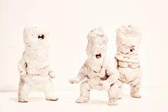 Ceramic Figures: 'Infant Terrible W#26, W#30, W#31'