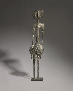 Standing Figure - 20th Century, Bronze, Sculpture by Kenneth Armitage