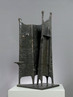 Standing Group No 2 - 20th Century, Bronze, Sculpture by Kenneth Armitage