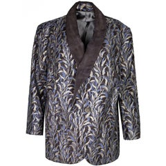 Kenneth D King Couture Fortuni Fabric Blazer
