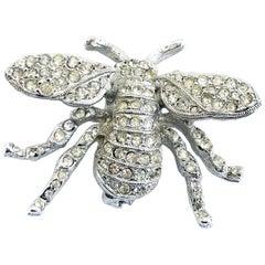 Kenneth Jay Lane Bumble Bee Brooch Pin