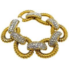 KENNETH JAY LANE KJL Bracelet Vintage 1980s